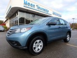 2014 Mountain Air Metallic Honda CR-V LX AWD #123616369