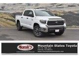 2018 Super White Toyota Tundra SR5 CrewMax 4x4 #123616024