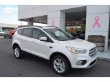 2018 White Platinum Ford Escape SEL #123616314