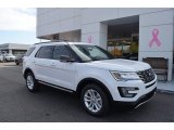 2017 Oxford White Ford Explorer XLT #123616310