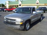 2002 Light Pewter Metallic Chevrolet Silverado 1500 LS Regular Cab #12341167
