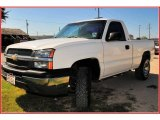 2003 Summit White Chevrolet Silverado 1500 Regular Cab 4x4 #12352514