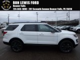 2017 Oxford White Ford Explorer XLT 4WD #123666730