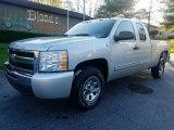 2011 Sheer Silver Metallic Chevrolet Silverado 1500 LS Extended Cab #123667047