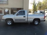 2004 Silver Birch Metallic Chevrolet Silverado 1500 Regular Cab #123667044