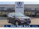 2011 Spicy Red Kia Sorento SX V6 #123698621