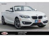 2018 Alpine White BMW 2 Series 230i Convertible #123698903