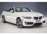 2018 BMW 2 Series 230i Convertible Front 3/4 View