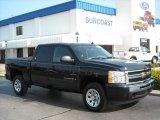 2009 Black Chevrolet Silverado 1500 LS Crew Cab #12350287