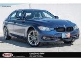 2017 Mediterranean Blue Metallic BMW 3 Series 330i Sedan #123698732
