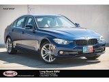 2017 Mediterranean Blue Metallic BMW 3 Series 330i Sedan #123698726