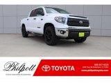 2018 Super White Toyota Tundra TSS CrewMax #123718490