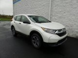 2017 White Diamond Pearl Honda CR-V LX AWD #123718389