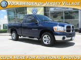 2006 Patriot Blue Pearl Dodge Ram 1500 SLT Regular Cab #12350529