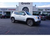 2017 Glacier Metallic Jeep Renegade Latitude #123718465
