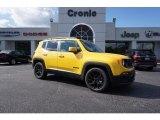 2017 Solar Yellow Jeep Renegade Latitude #123718464