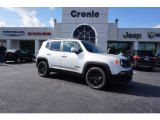 2017 Glacier Metallic Jeep Renegade Latitude #123718463
