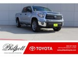 2018 Silver Sky Metallic Toyota Tundra SR5 CrewMax 4x4 #123718508