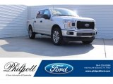 2018 Ingot Silver Ford F150 XL SuperCrew 4x4 #123740391