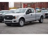 2018 Ingot Silver Ford F150 XL SuperCab 4x4 #123740327