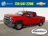 2014 Victory Red Chevrolet Silverado 1500 WT Double Cab 4x4 #123764022
