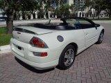 2003 Dover White Pearl Mitsubishi Eclipse Spyder GS #123789314