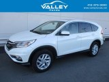 2015 White Diamond Pearl Honda CR-V EX #123789207