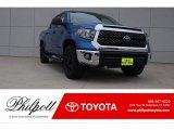 2018 Blazing Blue Pearl Toyota Tundra TSS CrewMax #123789355