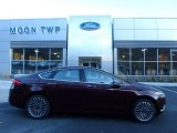 2017 Ruby Red Ford Fusion Titanium AWD #123789309