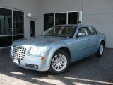 2008 Clearwater Blue Pearl Chrysler 300 Touring #12338939