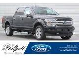 2018 Shadow Black Ford F150 Platinum SuperCrew 4x4 #123789326