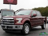2017 Bronze Fire Ford F150 Lariat SuperCrew 4X4 #123789171