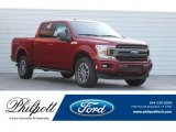 2018 Ruby Red Ford F150 XLT SuperCrew 4x4 #123815870