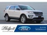 2017 White Platinum Ford Explorer XLT #123815847