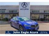 2018 Still Night Blue Pearl Acura TLX V6 A-Spec Sedan #123815675