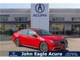 2018 San Marino Red Acura TLX V6 Technology Sedan #123815672