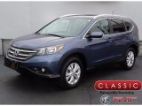 2014 Mountain Air Metallic Honda CR-V EX-L AWD #123815942