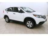 2014 White Diamond Pearl Honda CR-V LX AWD #123815940