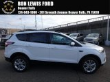 2018 Oxford White Ford Escape SE 4WD #123815715