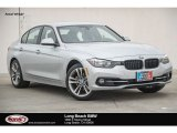 2017 Glacier Silver Metallic BMW 3 Series 330i Sedan #123846144