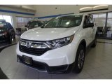 2017 White Diamond Pearl Honda CR-V LX AWD #123846165