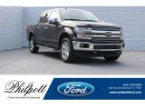 2018 Magma Red Ford F150 Lariat SuperCrew 4x4 #123846124