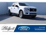 2018 Oxford White Ford F150 XL SuperCrew 4x4 #123846123