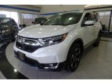 2018 White Diamond Pearl Honda CR-V Touring AWD #123846186