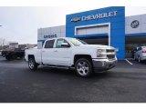 2018 Summit White Chevrolet Silverado 1500 LT Crew Cab #123860672