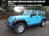 2017 Chief Blue Jeep Wrangler Unlimited Sport 4x4 #123860571