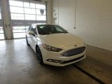 2018 White Platinum Ford Fusion SE #123874828