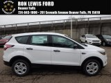 2018 Oxford White Ford Escape S #123874806