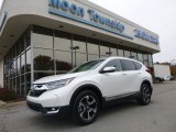 2018 White Diamond Pearl Honda CR-V Touring AWD #123898712