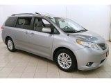 2012 Silver Sky Metallic Toyota Sienna XLE #123898801